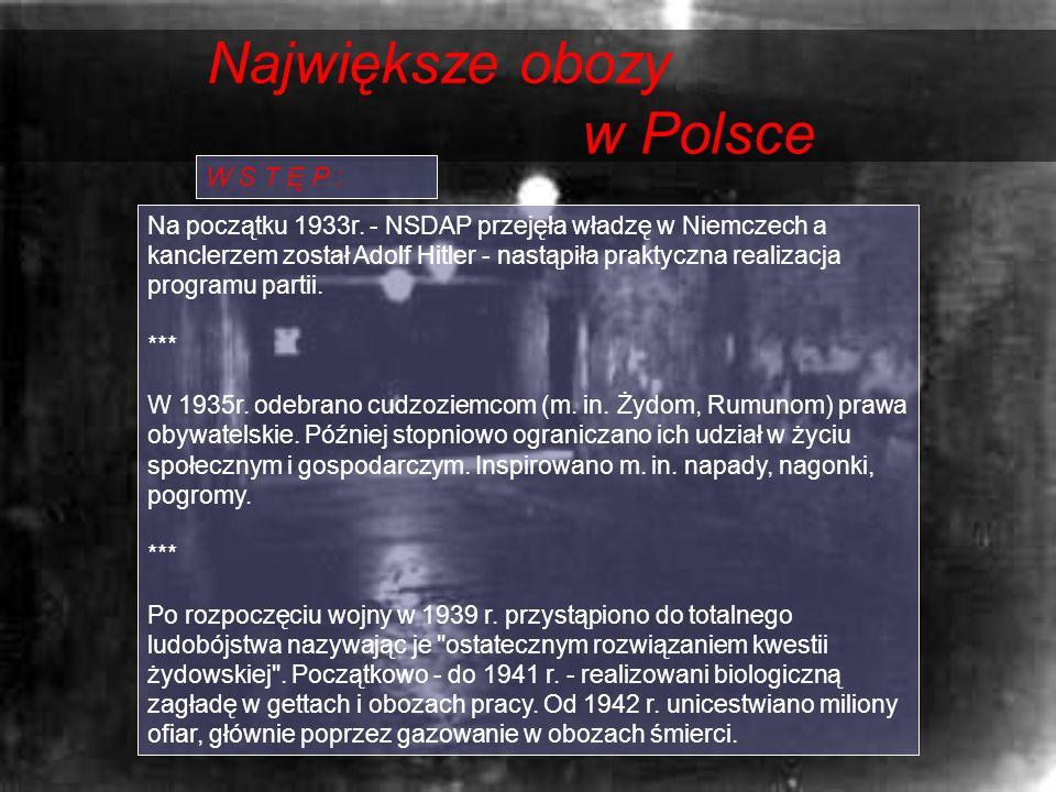Największe obozy w Polsce