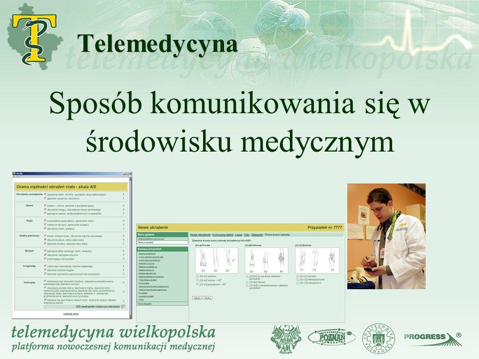 Sposób komunikowania się w środowisku medycznym
