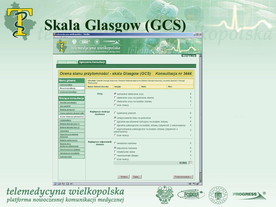 Skala Glasgow (GCS)