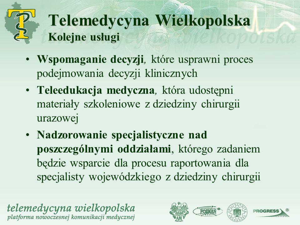 Telemedycyna Wielkopolska Kolejne usługi