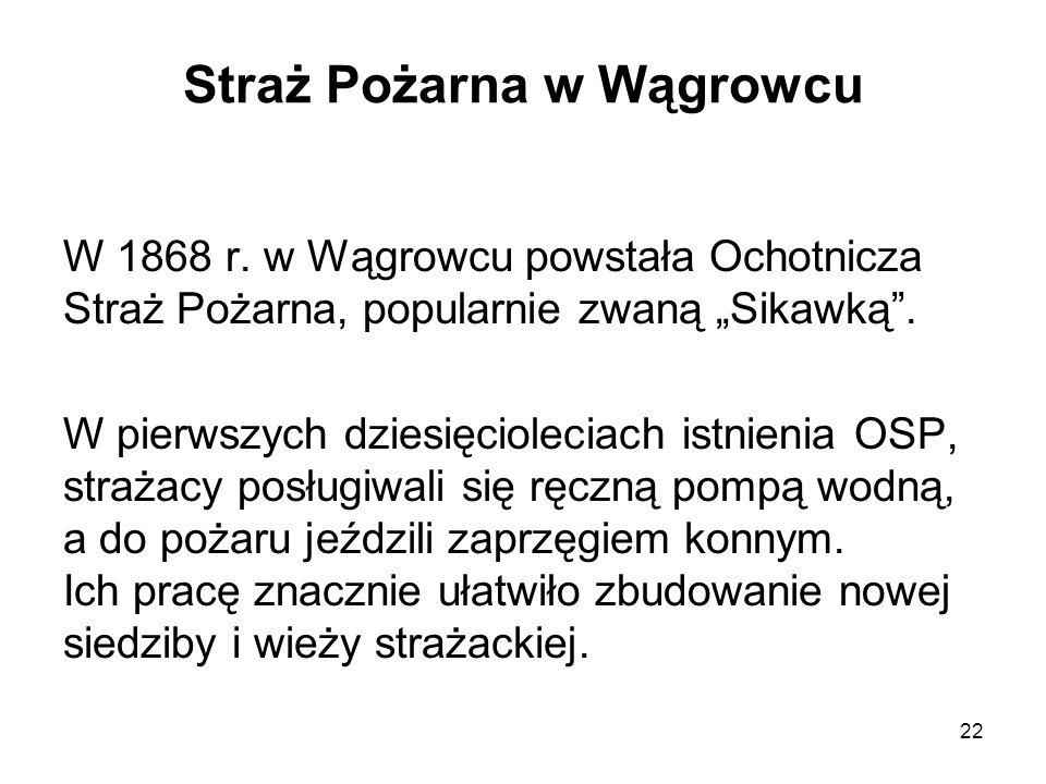 Straż Pożarna w Wągrowcu
