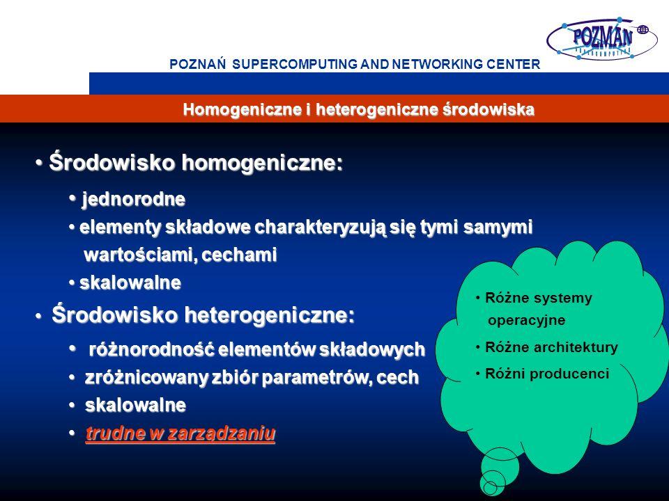 Środowisko homogeniczne: jednorodne