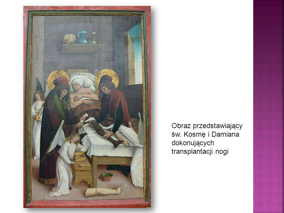 Obraz przedstawiający św