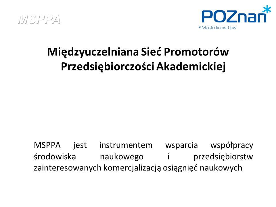 Międzyuczelniana Sieć Promotorów Przedsiębiorczości Akademickiej