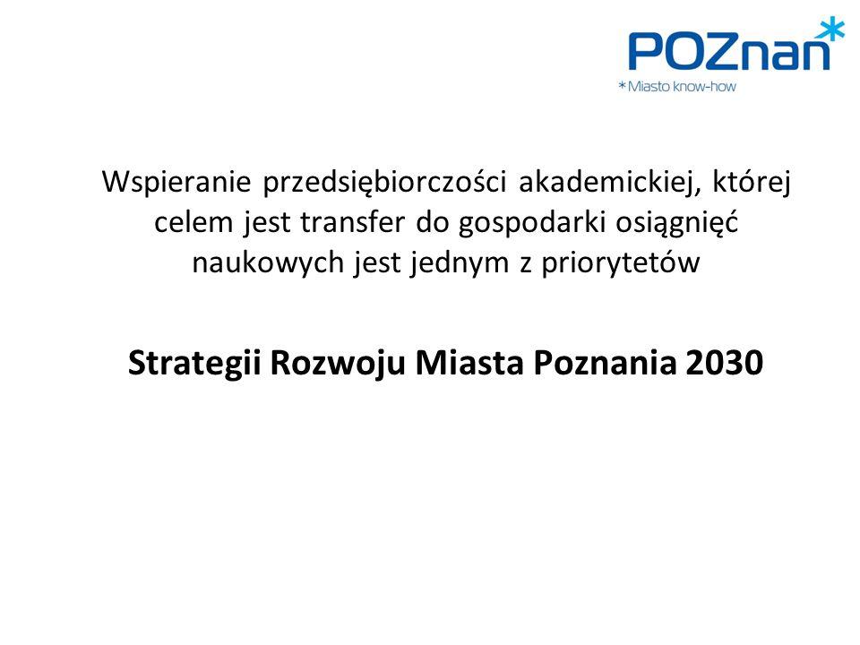 Strategii Rozwoju Miasta Poznania 2030