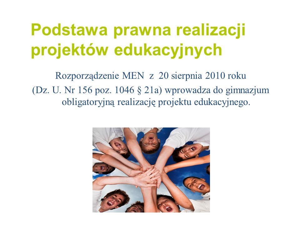 Rozporządzenie MEN z 20 sierpnia 2010 roku
