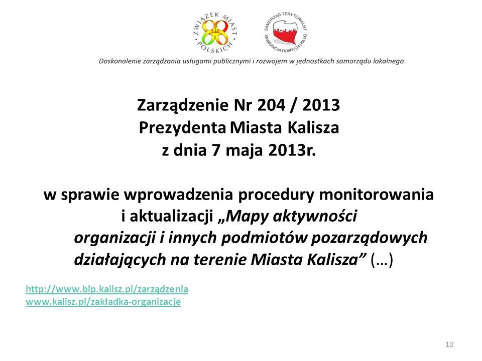 Prezydenta Miasta Kalisza