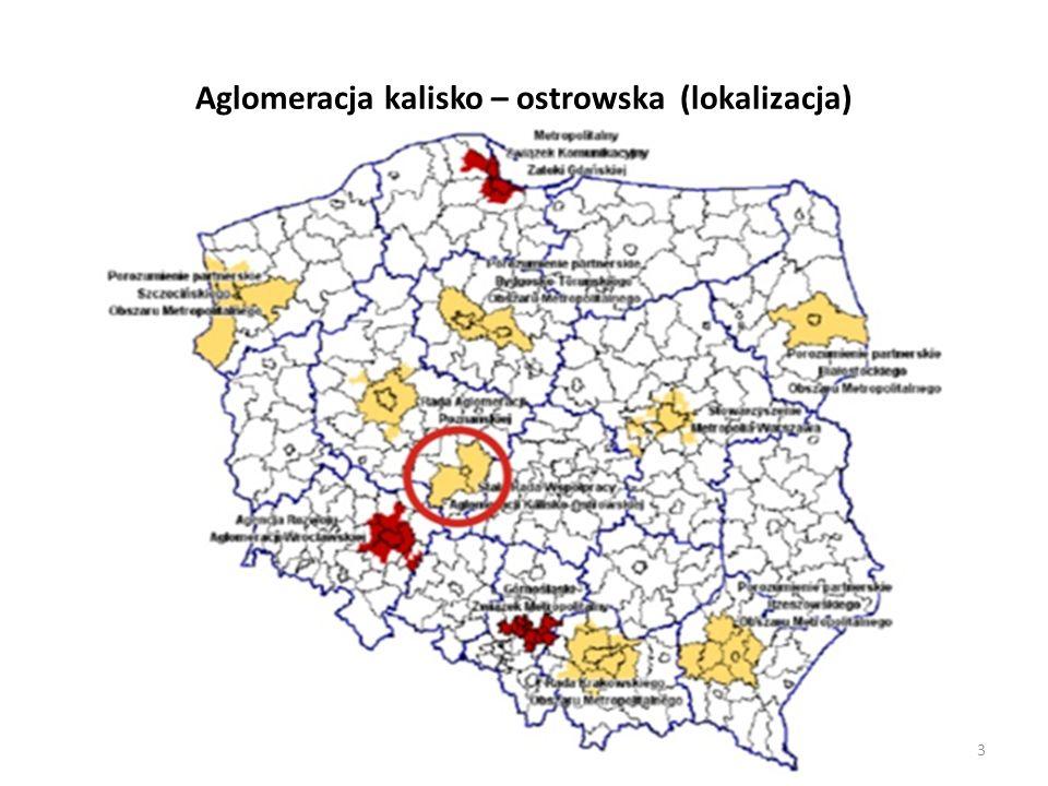 Aglomeracja kalisko – ostrowska (lokalizacja)