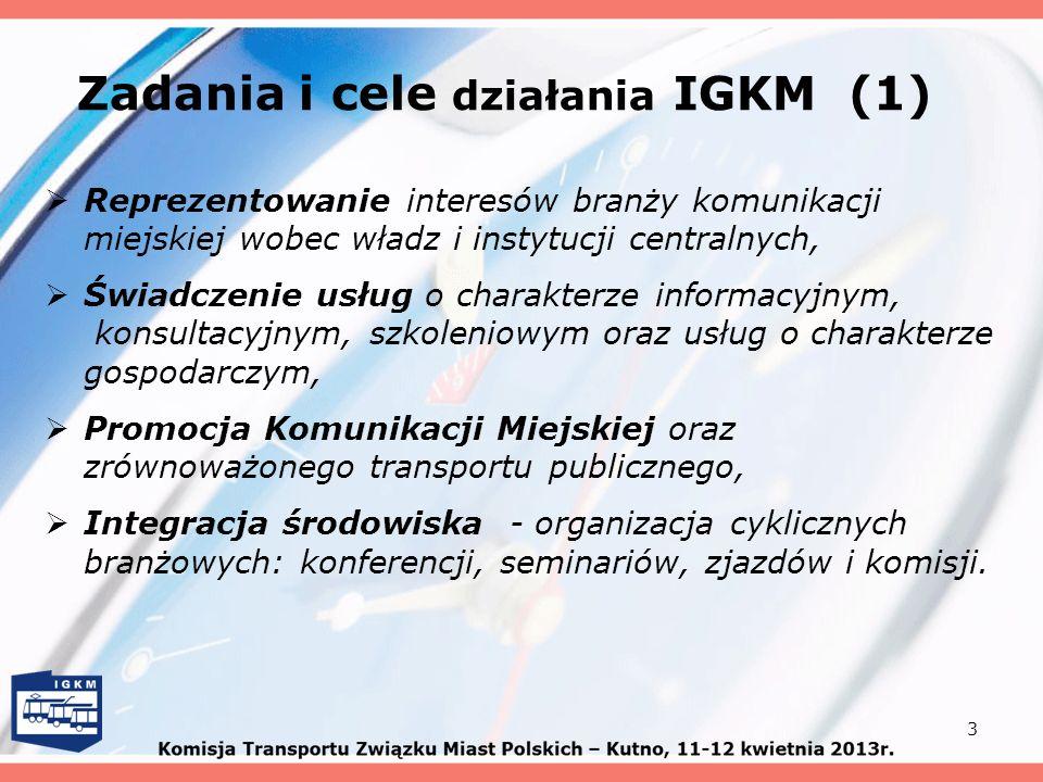 Zadania i cele działania IGKM (1)