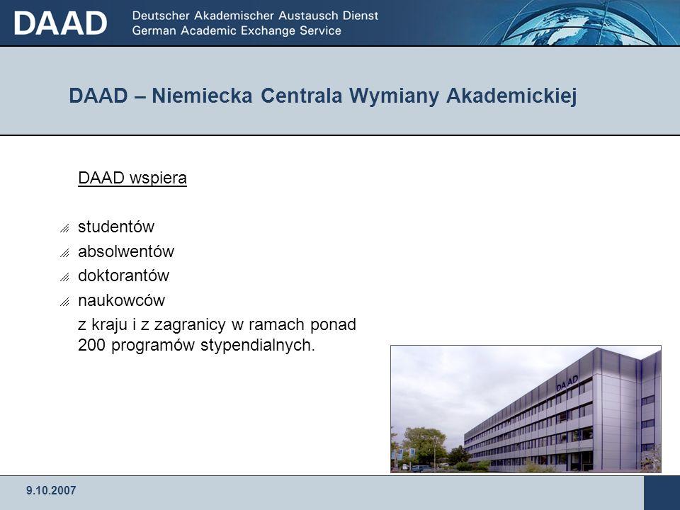 DAAD – Niemiecka Centrala Wymiany Akademickiej