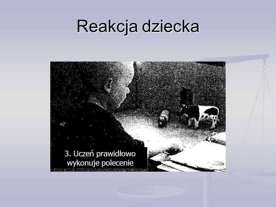 3. Uczeń prawidłowo wykonuje polecenie