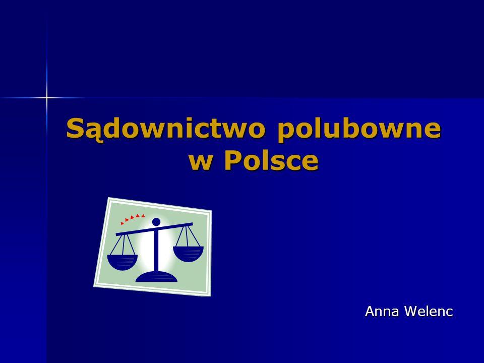 Sądownictwo polubowne w Polsce
