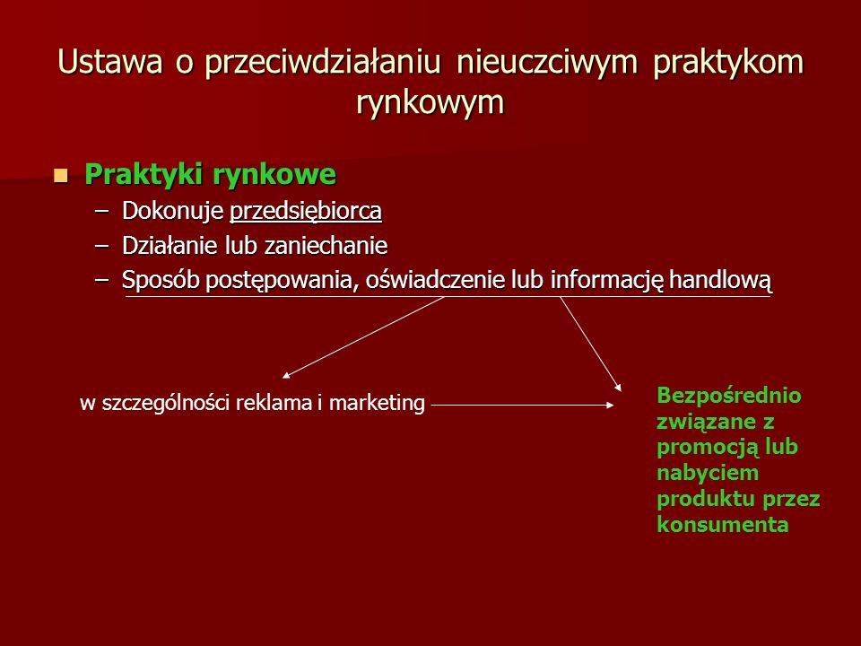 Ustawa o przeciwdziałaniu nieuczciwym praktykom rynkowym