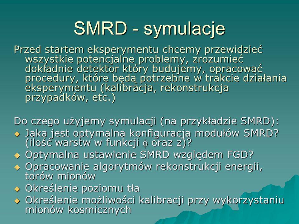 SMRD - symulacje