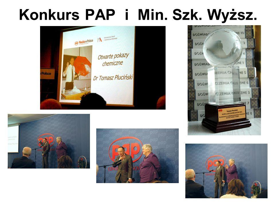 Konkurs PAP i Min. Szk. Wyższ.