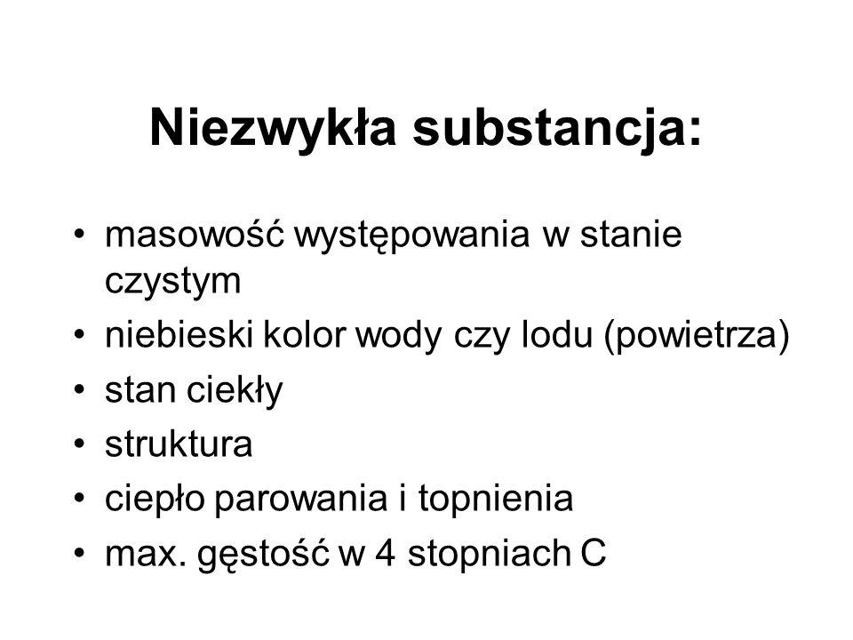 Niezwykła substancja: