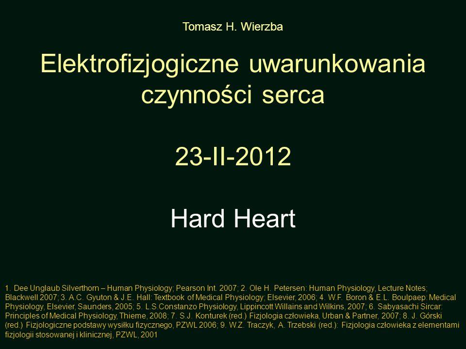 Elektrofizjogiczne uwarunkowania czynności serca