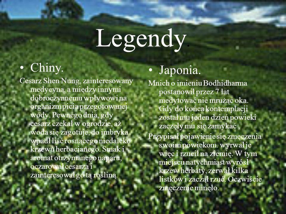 Legendy. Chiny.