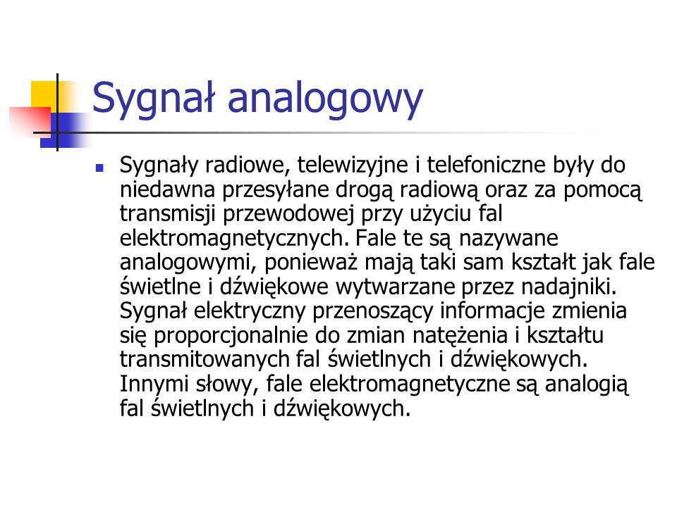 Sygnał analogowy
