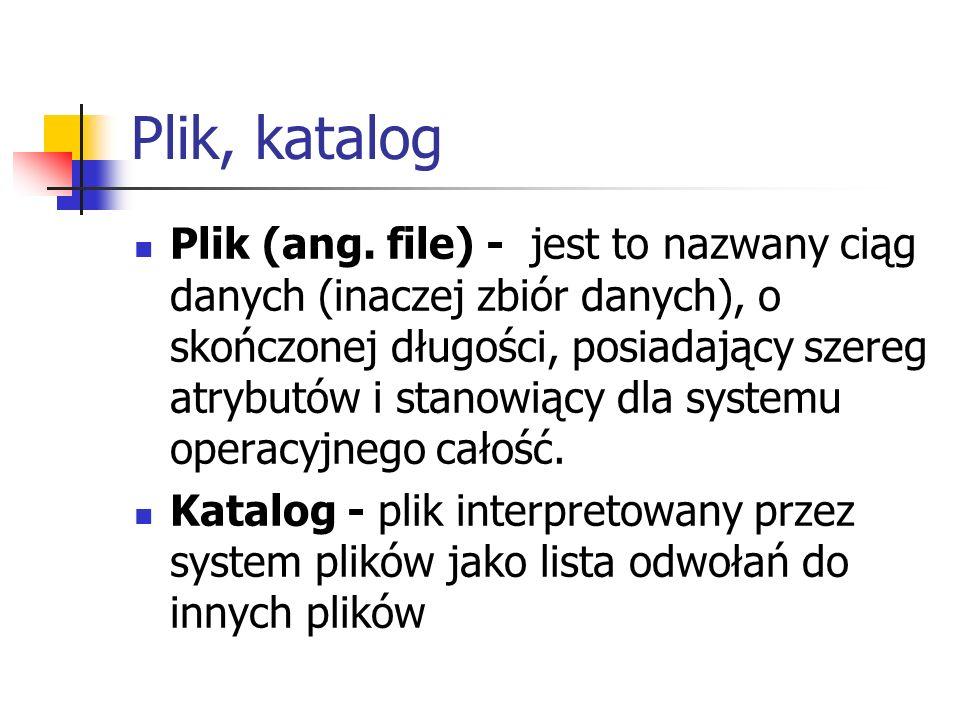 Plik, katalog