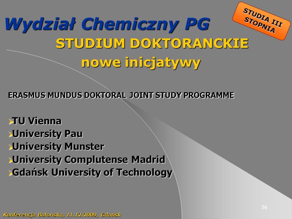 STUDIUM DOKTORANCKIE nowe inicjatywy