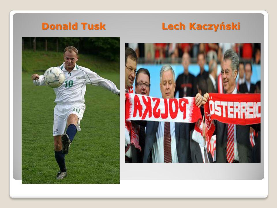 Donald Tusk Lech Kaczyński