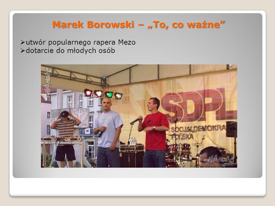 """Marek Borowski – """"To, co ważne"""