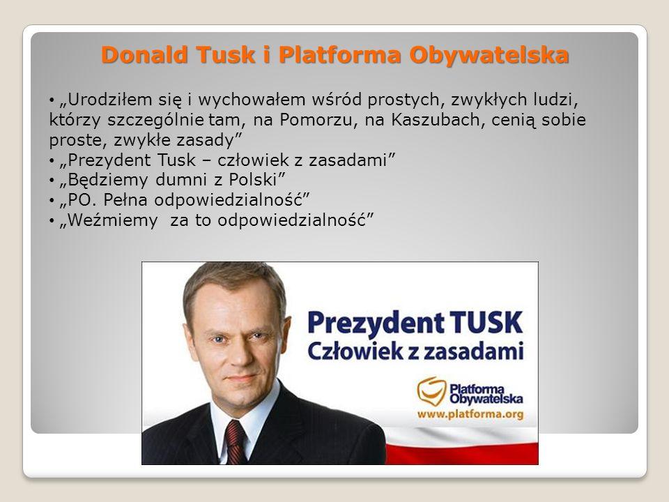 Donald Tusk i Platforma Obywatelska
