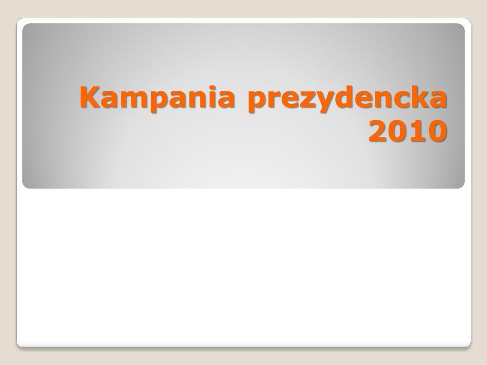 Kampania prezydencka 2010