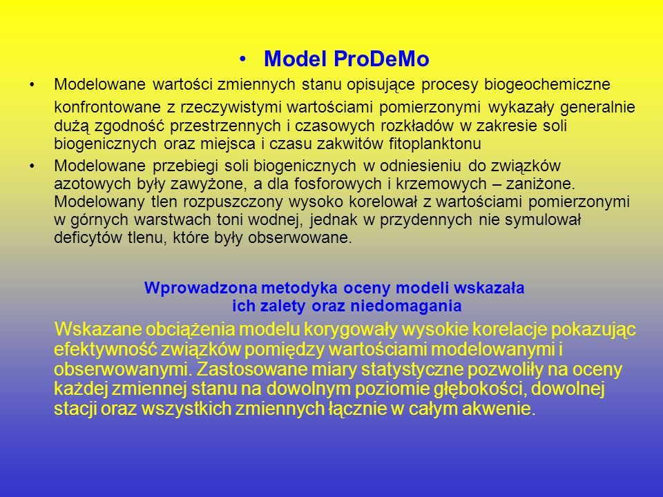Model ProDeMo