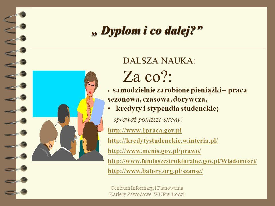 Centrum Informacji i Planowania Kariery Zawodowej WUP w Łodzi