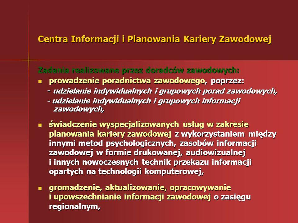 Centra Informacji i Planowania Kariery Zawodowej