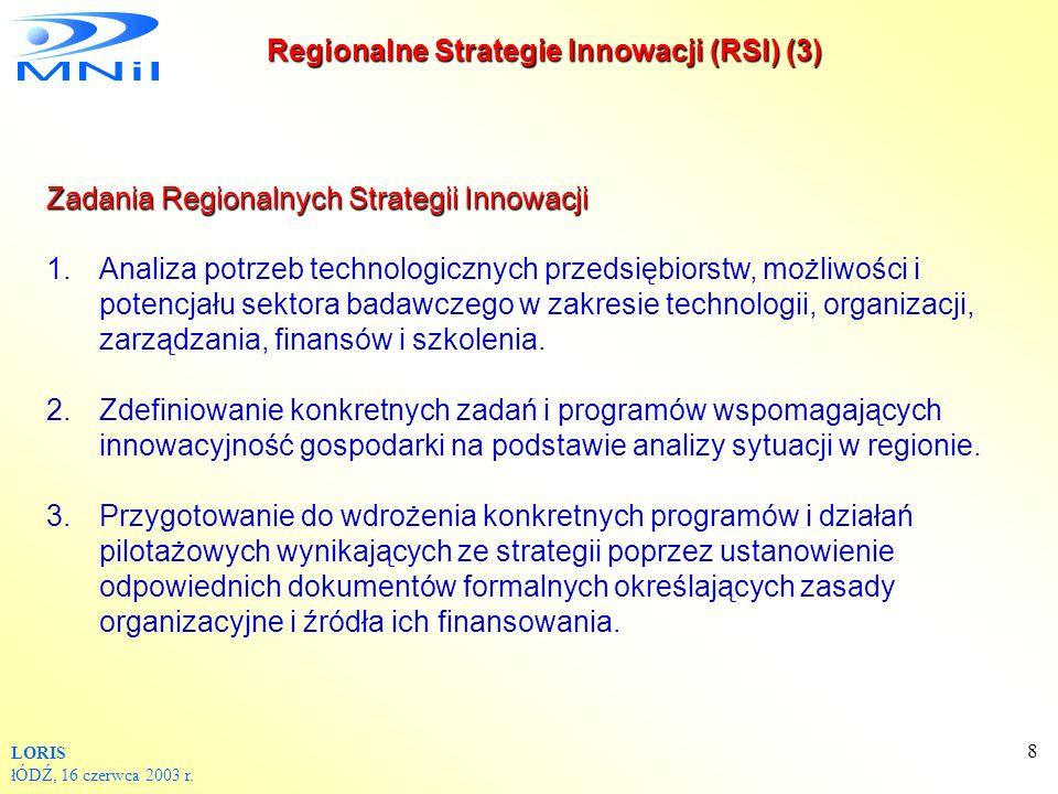 Regionalne Strategie Innowacji (RSI) (3)