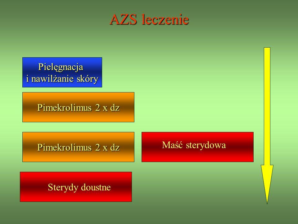 AZS leczenie Pielęgnacja i nawilżanie skóry Pimekrolimus 2 x dz