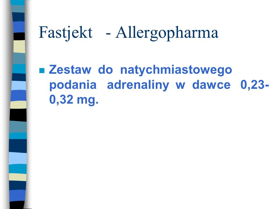 Fastjekt - Allergopharma