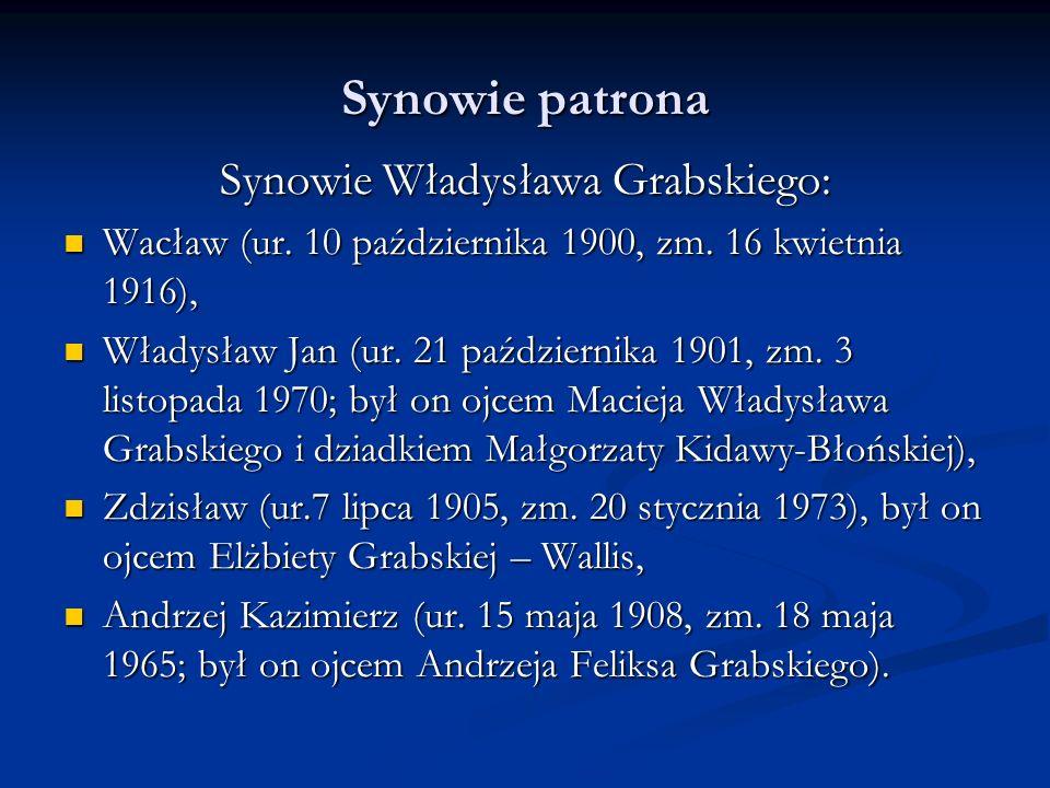 Synowie Władysława Grabskiego: