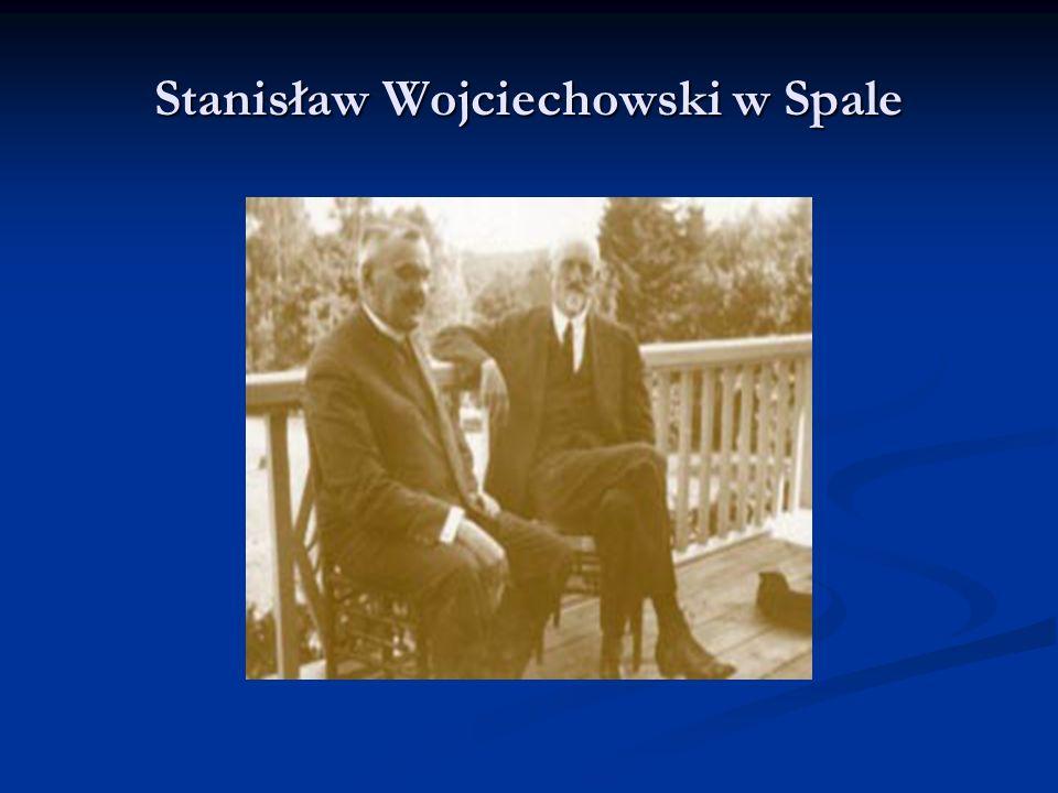Stanisław Wojciechowski w Spale