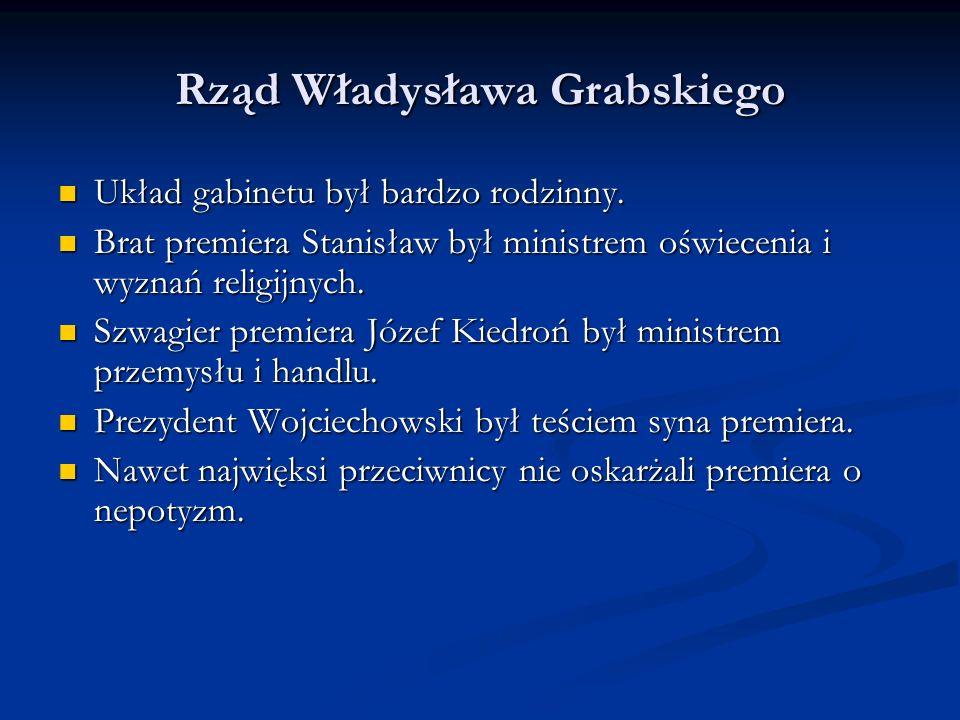 Rząd Władysława Grabskiego
