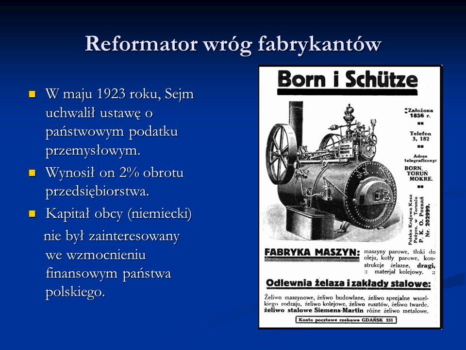 Reformator wróg fabrykantów