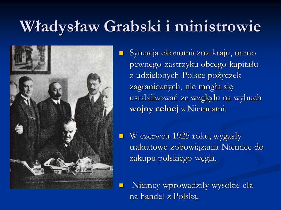 Władysław Grabski i ministrowie