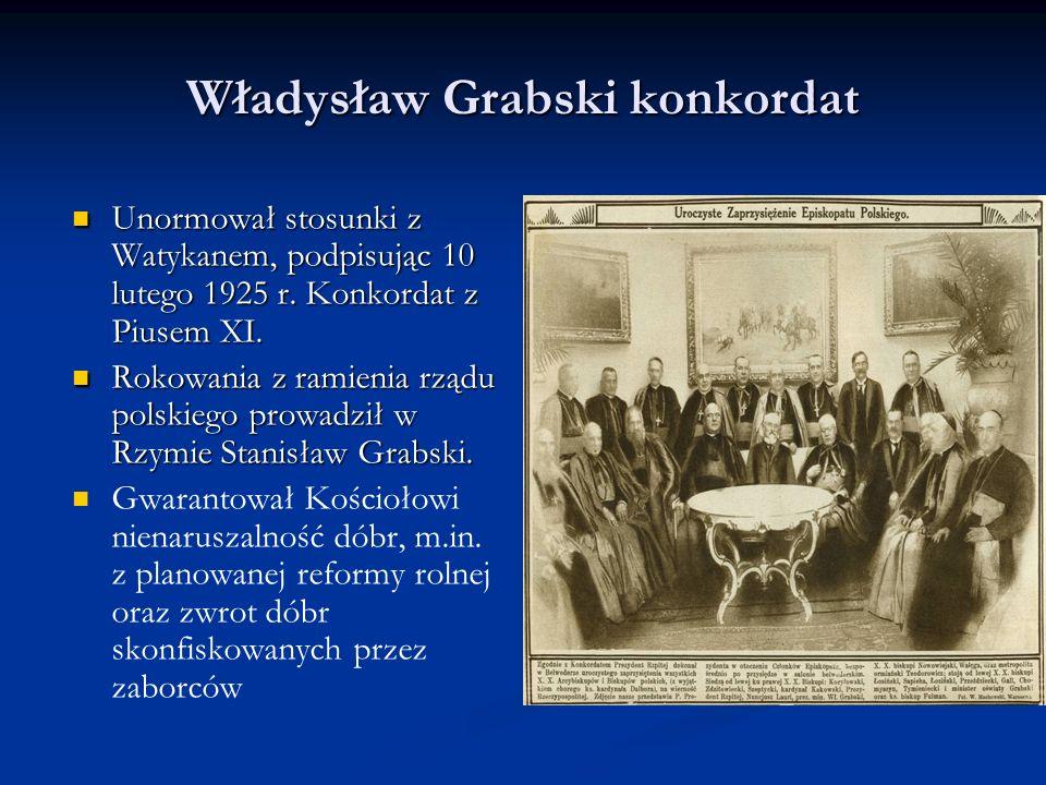 Władysław Grabski konkordat