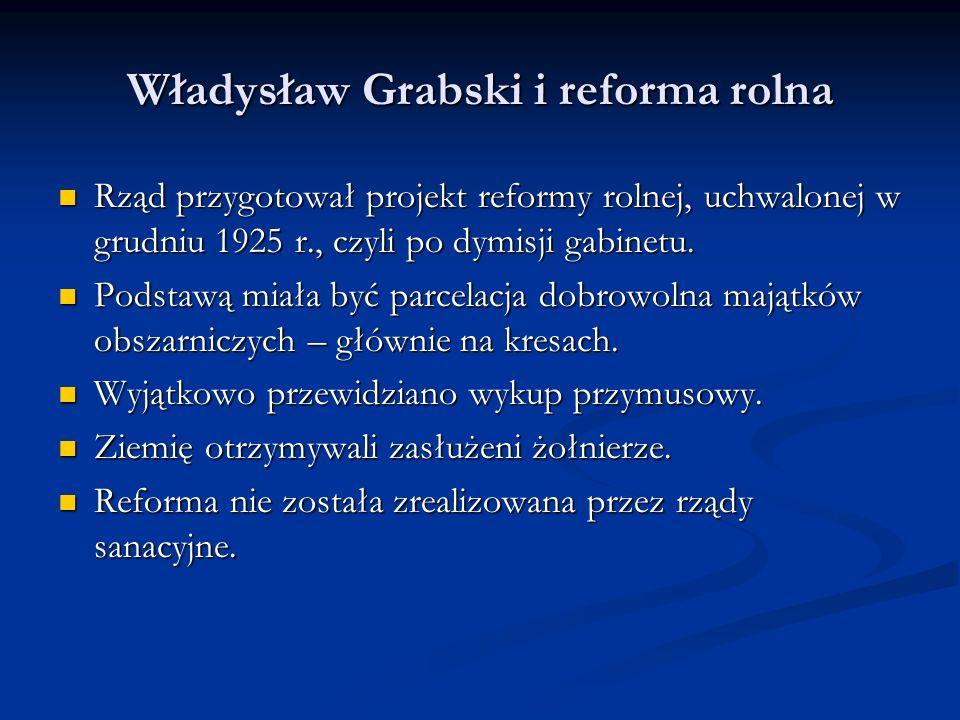 Władysław Grabski i reforma rolna