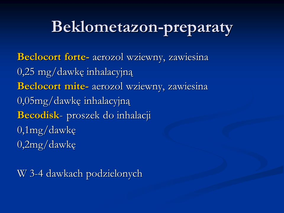 Beklometazon-preparaty