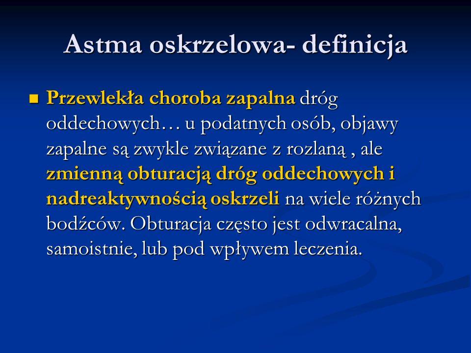 Astma oskrzelowa- definicja