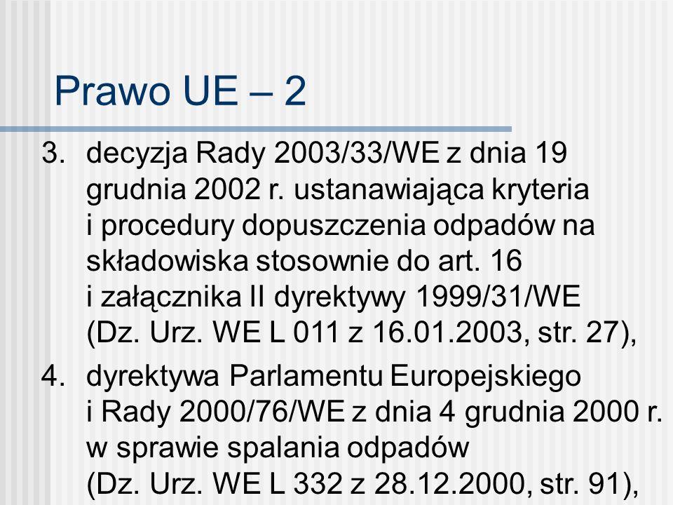 Prawo UE – 2
