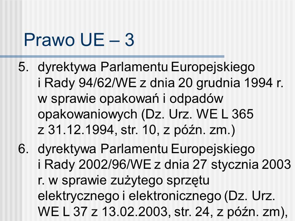 Prawo UE – 3