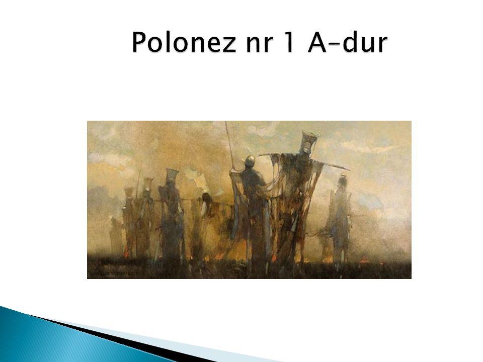 Polonez nr 1 A–dur