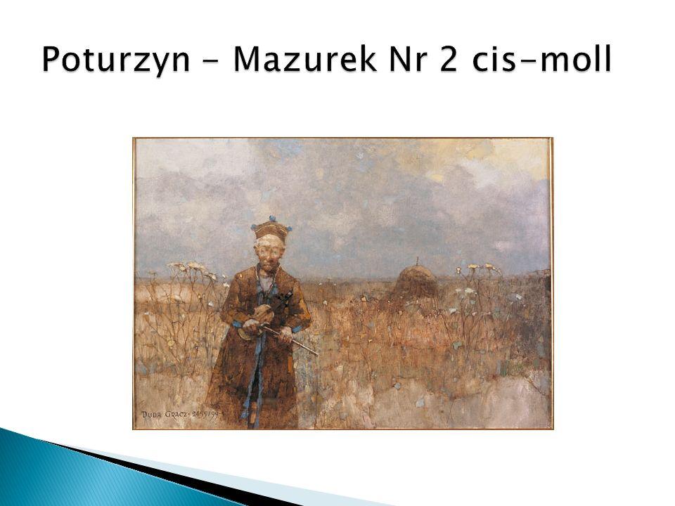 Poturzyn - Mazurek Nr 2 cis-moll