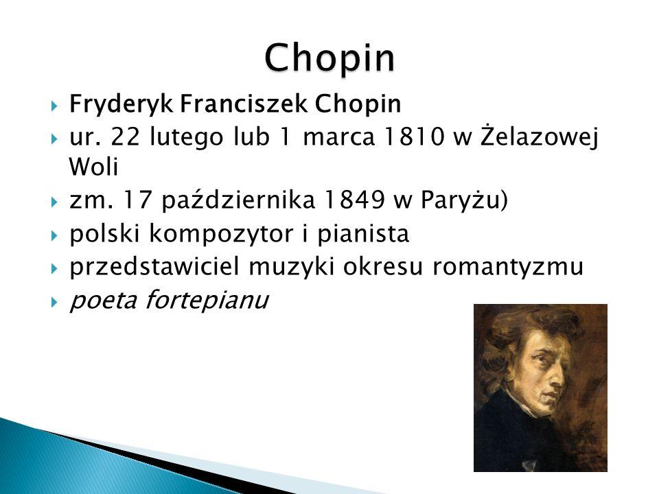 Chopin Fryderyk Franciszek Chopin