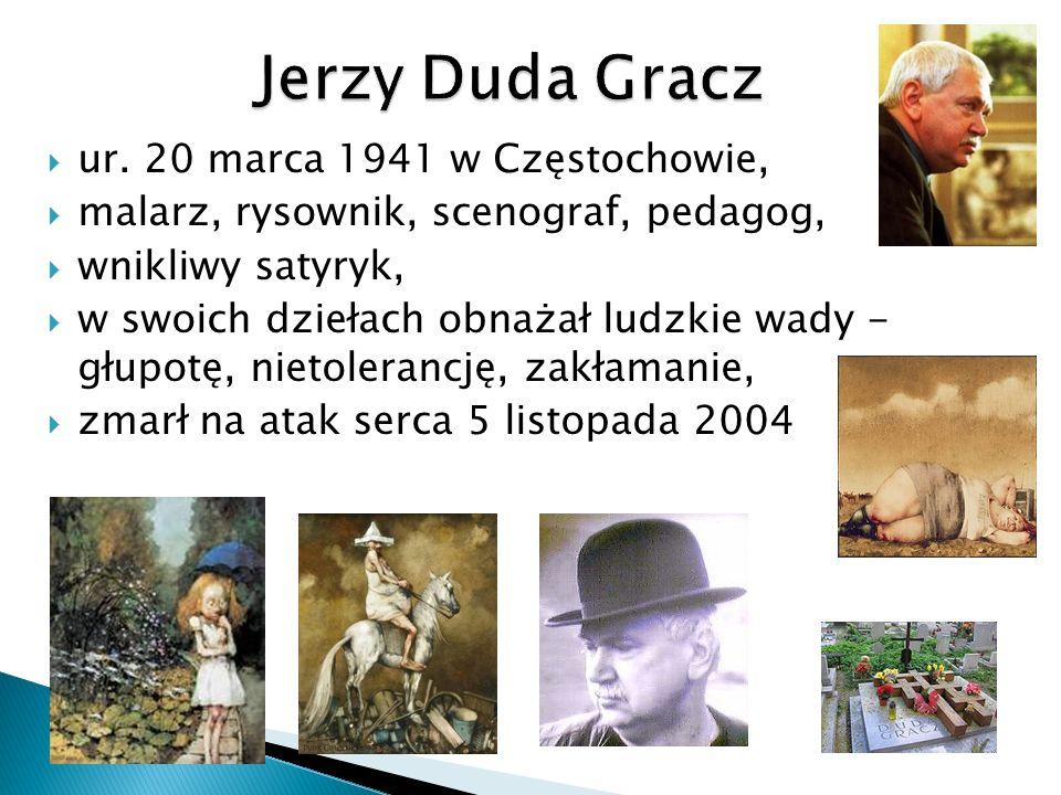Jerzy Duda Gracz ur. 20 marca 1941 w Częstochowie,